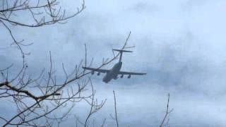 """Military Aircraft practicing """"touch and go"""