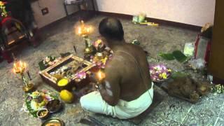 ganapathi homam at Kavadipooja