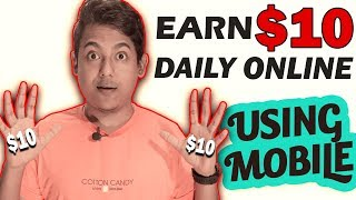Very easy online job using your mobile phone - high payout work from home online