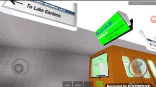 ROBLOX STOC Lake Garden Line C801C Engine Problem