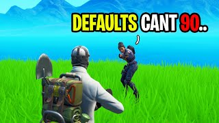 Default Got Bullied For Doing Bad 90s On Fortnite...
