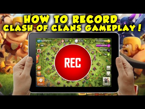 How to Record Clash Of Clans Gameplay! No Jailbreak + Free Screen Recorder!