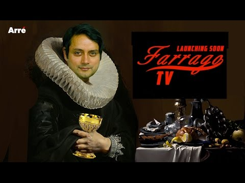 Shashi Tharoor Takes On Arnab Goswami With Farrago TV | Launching Soon