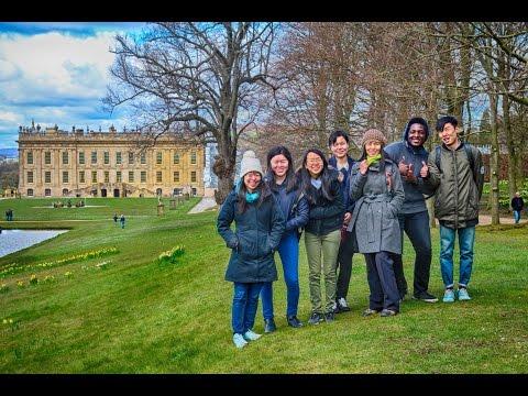 Visiting Chatsworth Gardens from Sheffield