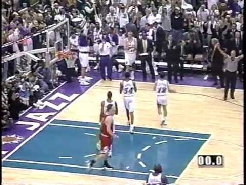 Bulls at Jazz - Game 1 - 1998 NBA Finals - 6/3/98 (Highlights)