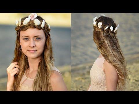 Mermaid Crown Braid   Halloween Hairstyles   Cute Girls Hairstyles