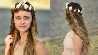 Mermaid Crown Braid | Halloween Hairstyles | Cute Girls Hairstyles