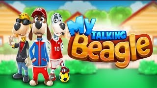 My Talking Beagle: Virtual Pet Android Gameplay (HD)