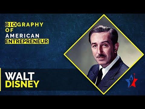 Walt Disney Biography in English