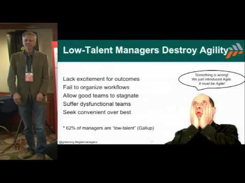 Develop Agile Managers, or Agile Dies