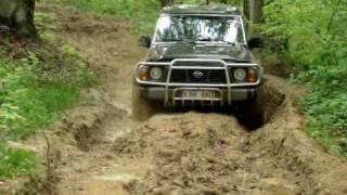 Off road 4x4 Nissan Patrol y60, Toyota Land Cruiser Lj70, Patrol K160
