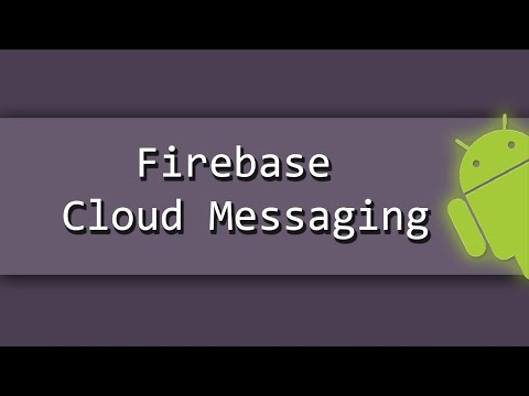 Firebase Cloud Messaging Push Notifications using the Android, PHP, MYSQL PART 2/2