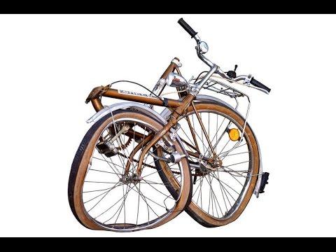 Ein Fahrrad aus Schrott bauen Teil 1