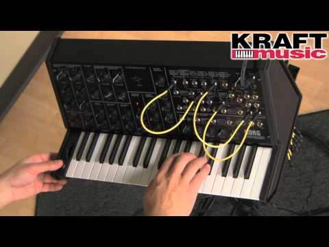 Kraft Music - Korg MS-20 mini Synthesizer Demo with Rich Formidoni