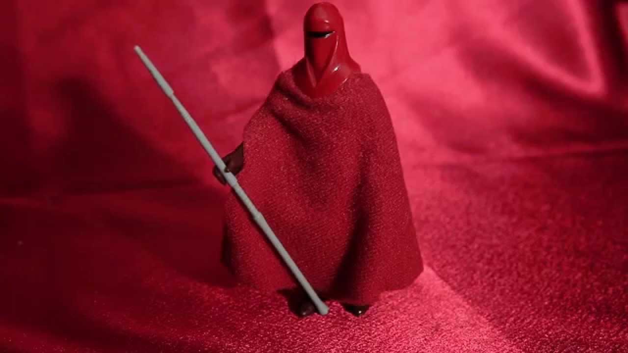 Star Wars Vintage Complete Emperor/'s Royal Guard  Figure 1983