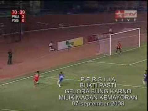 [ISL] Persija (5)  vs PSIS (0), Sept 2008
