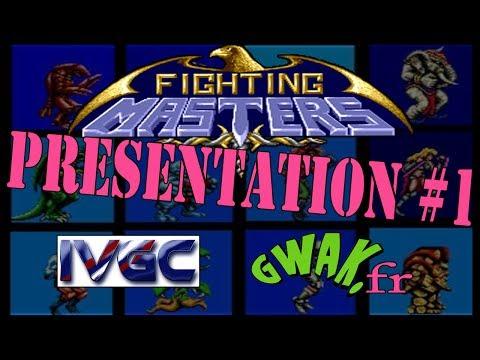 """Présentation#1 """"Fighting Masters"""" Gwak Live Show à l'IVGC de Cannes 28/02/14"""
