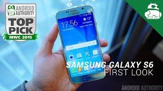 Samsung Galaxy S6 First Look!