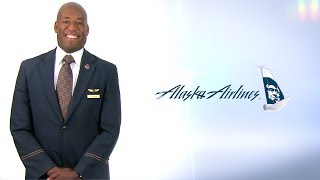 Alaska Airlines Flight Attendant Rod