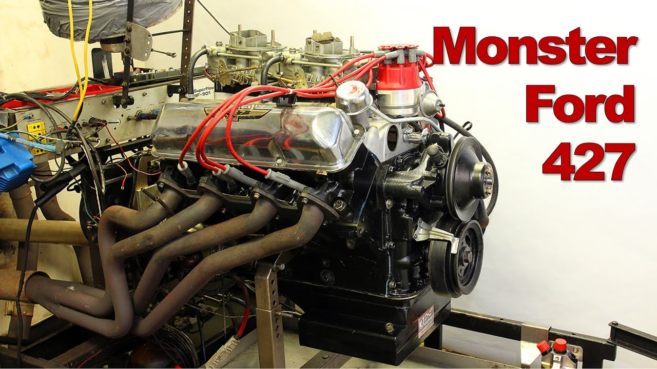Monster Ford 427 Top Oiler Engine Build and Dyno Session
