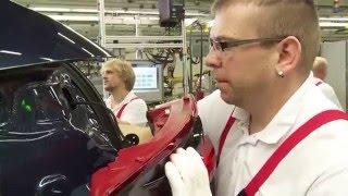 Porsche Production at Leipzig - Body Shop, Paint Shop, Assembly