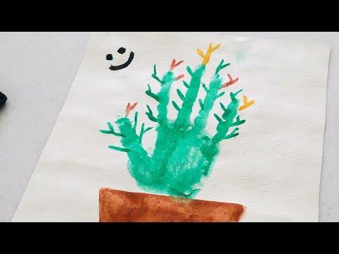 el baskisi kaktus yapimi yildiz sanat