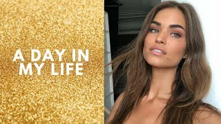 A DAY IN MY LIFE AS A MODEL - On set w/ Victoria's Secret -  // Robin Holzken