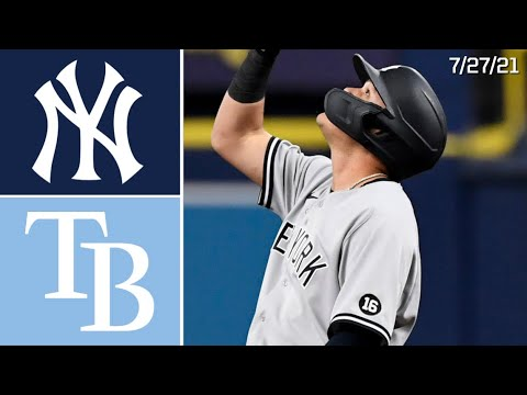 Download New York Yankees @ Tampa Bay Rays | Game Highlights | 7/27/21