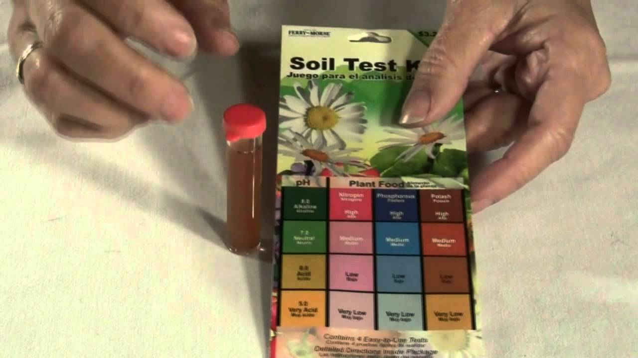 using the ferry morse soil test kit youtube. Black Bedroom Furniture Sets. Home Design Ideas
