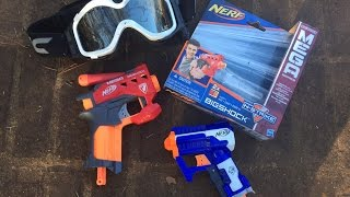 Honest Review: NEW 2015 Nerf BIGSHOCK Review (Full unboxing and demo)