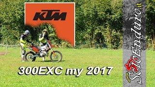 KTM 300exc my 2017 la prova dell