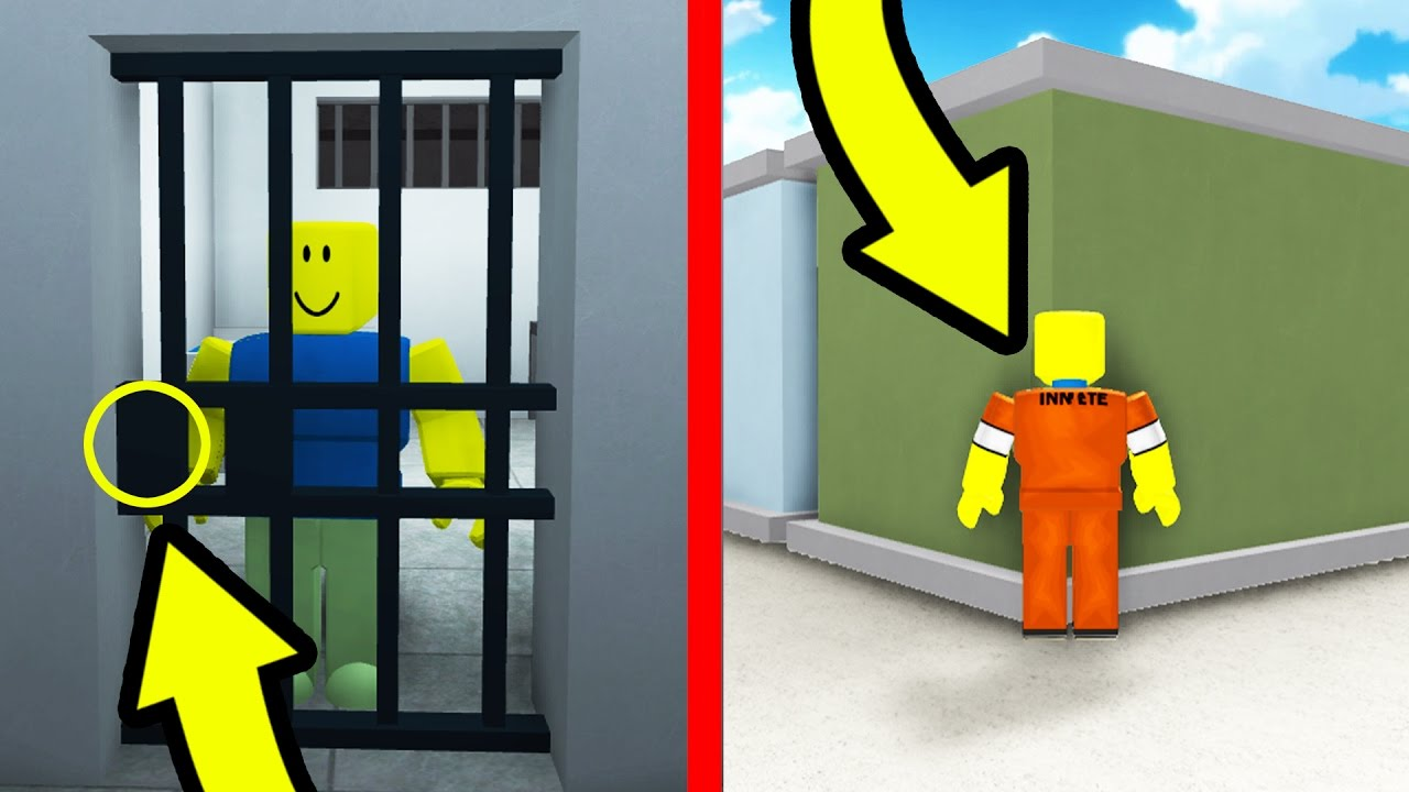 Noob Jailed Roblox Teaching A Noob How To Glitch In Roblox Prison Life Youtube