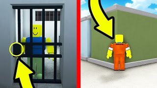 TEACHING A NOOB HOW TO GLITCH IN ROBLOX PRISON LIFE!!