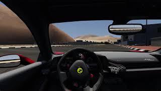 Assetto Corsa Ferrari 458 Italia Drift-Gezinti /Logitech G29/