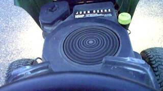 John Deere Lawnmower issue - Running rough LT160