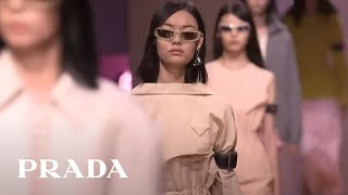 Miuccia Prada and Raf Simons present their first SS22 collection live from Milan and Shanghai