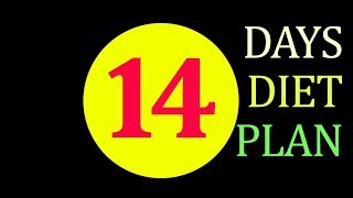 14 Days Guaranteed Weight Loss Diet Plan (Unbelievable Rapid Result)