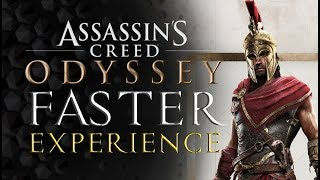Assassins Creed Odyssey - The FASTEST Way to LEVEL UP (without spending money)