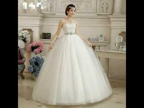Gaun Pengantin Ala Negri Dongeng Mewah Dan Elegan Model Terbaru