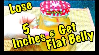 Get Flat Belly in 5 Days | Magical Belly Fat Burner Drink | Fat Cutter Drink