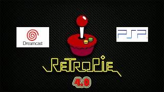 RetroPie 4.0 - Dreamcast e PSP (No Overclock)