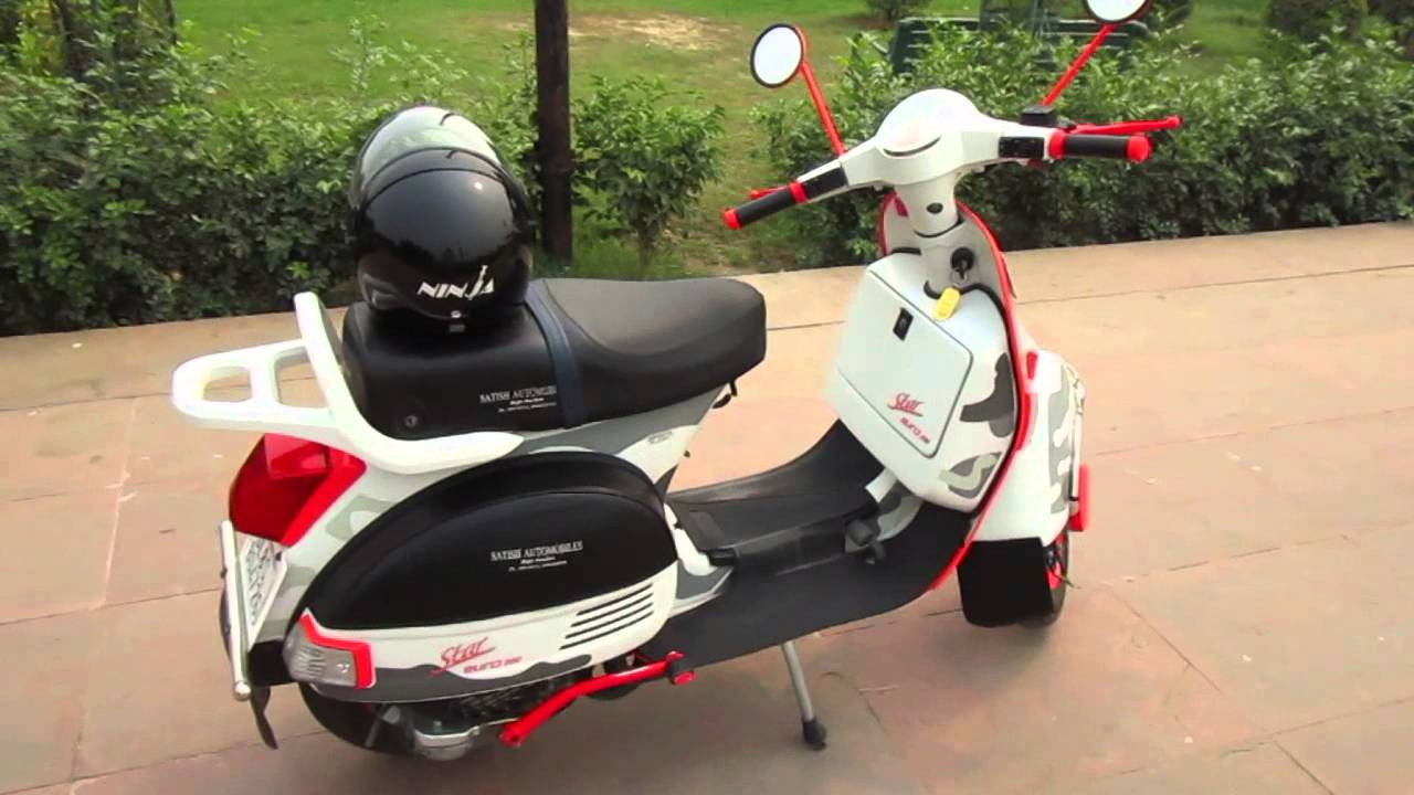 lml 200cc scooter euro star euro funky youtube. Black Bedroom Furniture Sets. Home Design Ideas