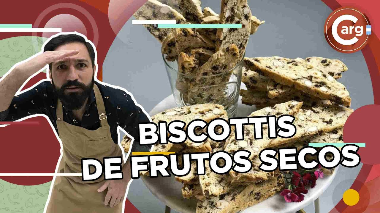 BISCOTTIS DE FRUTOS SECOS