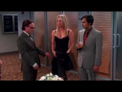 Penny Flaunts Her Body Trying To Get Leonard Tenure At University (Big Bang Theory - S06E20)