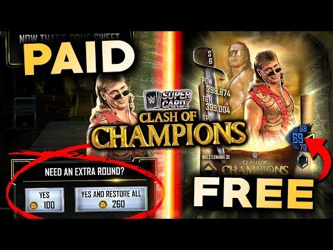 FREE TO PLAY CLASH OF CHAMPIONS GUIDE!! How To Get A High Rank WITHOUT CREDITS!   WWE SuperCard