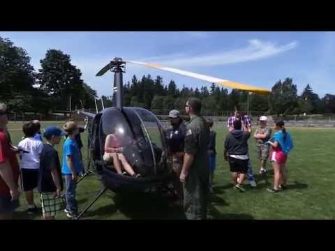 Sauvie Island Academy Helicopter: Mac using Cylic Pitch