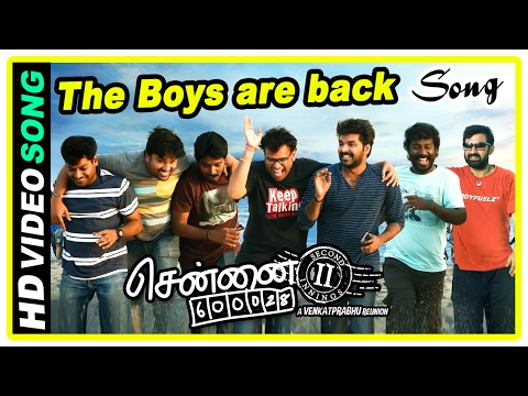 Chennai 600028 II Movie Scenes | Title Credits | The Boys are back song | Friends intro | Jai