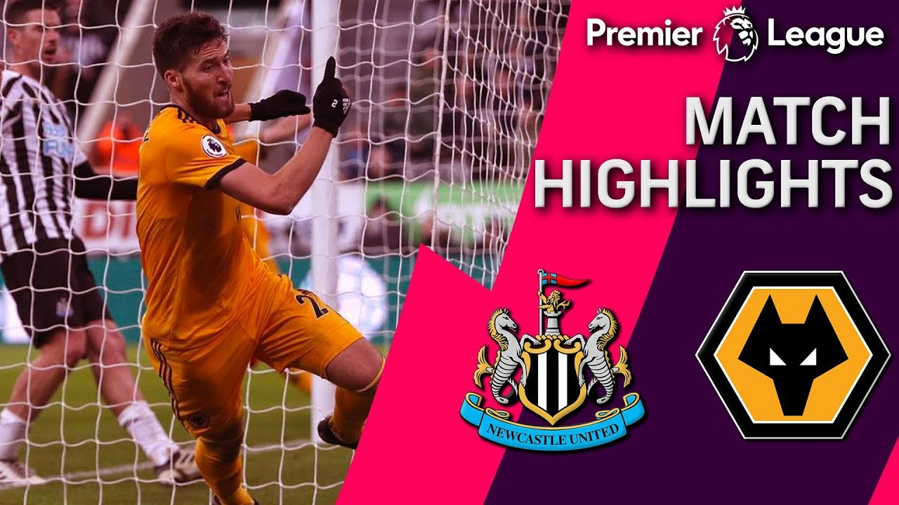 Newcastle v. Wolves | PREMIER LEAGUE MATCH HIGHLIGHTS | 12/9/18 | NBC Sports