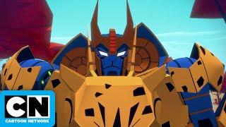 Windblade's Secret Hideout | Transformers Cyberverse | Cartoon Network
