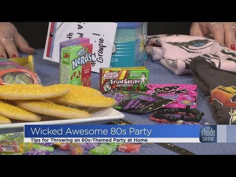 How to Throw an 80s Party